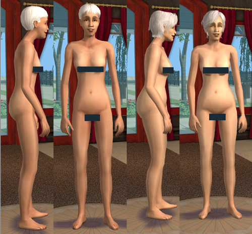 ... you solve the problem by using the adult nude meshes for elder ladies, ...